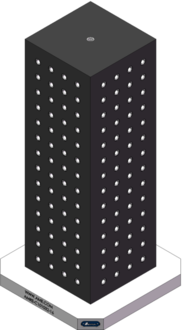 AMRE-C101032-16 Cube Tombstones