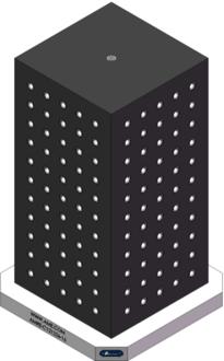 AMRE-C121226-16 Cube Tombstones