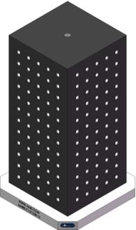 AMRE-C121228-16 Cube Tombstones