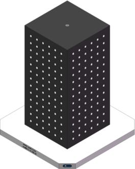 AMRE-C141430-25 Cube Tombstones