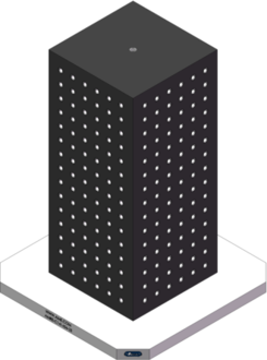 AMRE-C141434-25 Cube Tombstones