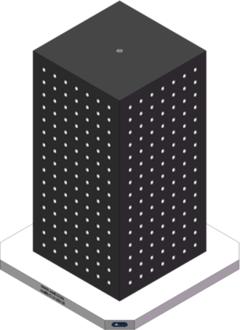 AMRE-C161636-25 Cube Tombstones
