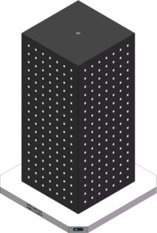 AMRE-C161638-25 Cube Tombstones