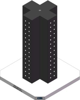 AMRE-K05051432-25 Cross Column Tombstones
