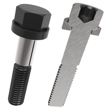 amf-51426-02 Non Precision Spherical Screws