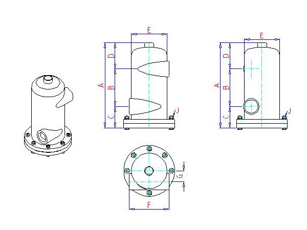 Rolairtrol Air Separator Hot & Chilled Water - Xylem Applied