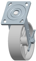 Faultless-Top Plate Swivel Caster-1406-6X2RB
