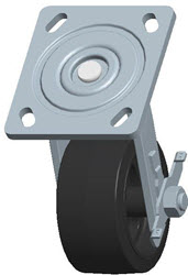 Faultless-Top Plate Swivel Caster-1418-4X2RB