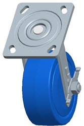 Faultless-Top Plate Swivel Caster-1440-5X2RB