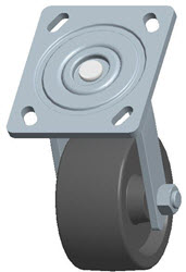 Faultless-Top Plate Swivel Caster-1460-4X2