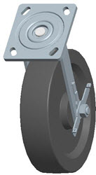 Faultless-Top Plate Swivel Caster-1460-8X2RB