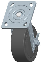Faultless-Top Plate Swivel Caster-1464W-5X2RB