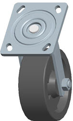 Faultless-Top Plate Swivel Caster-1464W-HT-5X2