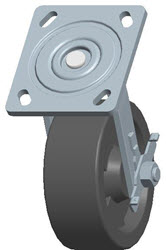 Faultless-Top Plate Swivel Caster-1465W-HT-5X2RB