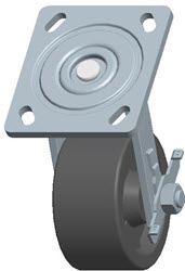 Faultless-Top Plate Swivel Caster-1467W-4X2RB