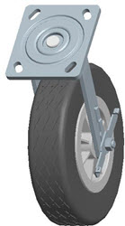 Faultless-Top Plate Swivel Caster-1481-8X2RB
