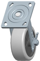 Faultless-Top Plate Swivel Caster-1491-5X2RB