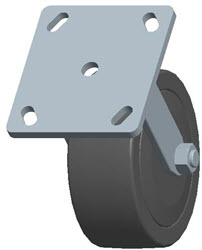 Faultless-Top Plate Rigid Caster-3430-5X2