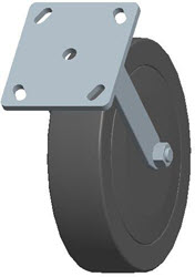 Faultless-Top Plate Rigid Caster-3430-8X2