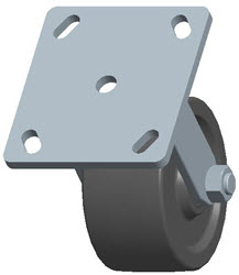 Faultless-Top Plate Rigid Caster-3431-4X2