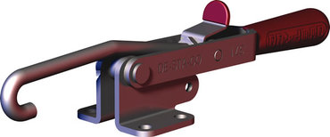 Destaco's 371 Series pull action latch clamps are equipped with patented thumb control lever for one handed operation.