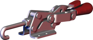 Destaco's 3051-R Series pull action latch clamps feature controlled motion, single handed operation, and secure toggle locking action.