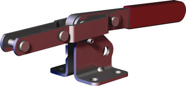Destaco's 311 pull action latch clamps feature a compact design suitable for molding applications and feature automatic fixed stop capability.