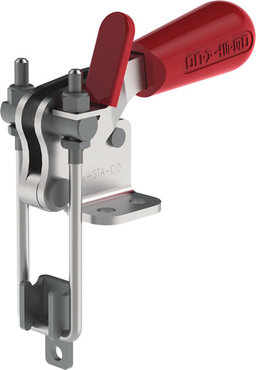 Destaco's 324 Series pull action latch clamps are equipped with latch plate, U-hook configuration, and patented thumb control lever for one handed operation.