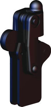 Destaco's 505-MLB Series vertical, weldable hold down toggle locking clamps feature a modular design, weldable clamping arm, and long base.