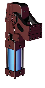 Destaco's RC Series of pneumatic pivot units are designed for welding applications and accurate positioning of tooling.
