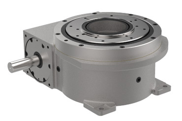 RDM Series Index Drives are low profile and feature a large center thru hole.