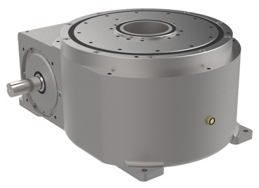 RDM Series Index Drives are ideal for rotary dial applications and feature a large output mounting surface supported by 4-point contact bearing.