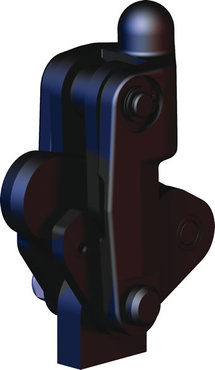 Destaco's 503-mb Series vertical, weldable hold down toggle locking clamps feature a modular design, weldable clamping arm, and long base.