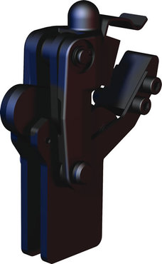Destaco's 503-MLBLSC Series vertical, weldable hold down toggle locking clamps feature a modular design, weldable clamping arm, and long base and locking spring clip.