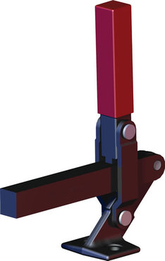 Destaco's 528 Series heavy-duty, vertical hold down clamps feature hardened steel bushings at pivot points and a modifiable solid bar to suit your application requirements.