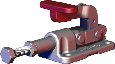 Destaco's 6015-SS Series straight line action clamps are the smallest of the solid base straight line action clamps. They feature a compact design combined with stainless steel components.
