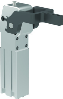 Destaco's 82L-4-03 Series pneumatic power clamps feature a lightweight design, two mounting areas (front and back), and a Toggle-locking mechanism.