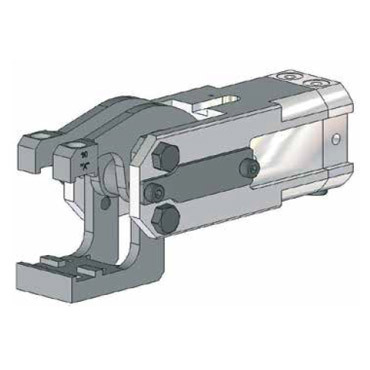 Destaco's 84A2-17 Series light-duty, modular cam-style pressroom gripper is self-locking and can be used vertically or horizontally.