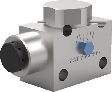Destaco's ARVR-312 (Auto Release Venturi) Series of vacuum generator cup mounts are block style can pair with an optional sensor.