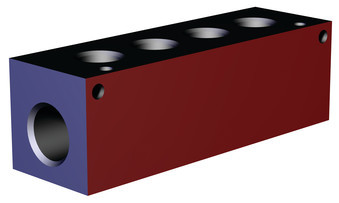 Destaco's CPI-MMB-4P Series block mounted manifolds feature an aluminum design.