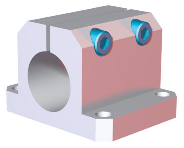 "Destaco's CPI-CLM-10-152F-90 Series of mid flange mounts are designed for 1.00"" micro tubes."