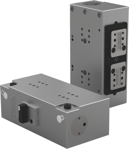 Destaco's precision guides and lifters, when used with DESTACO power clamps and pin packages, provides customers flexibility in body-in-white applications.