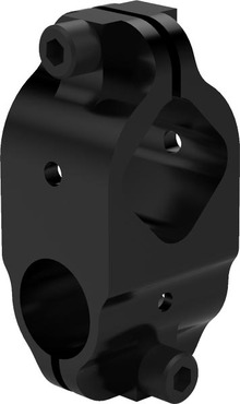 Destaco's M-30B Series of transition brackets are octagonal tooling components that to extrusion and round tubing.