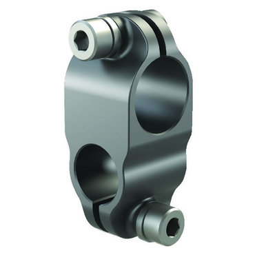 Destaco's CL-PA Series lightweight, apple core clamps blocks are designed to cross a tube perpendicular to an adapter of vacuum generator system.