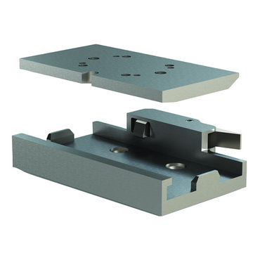 Destaco's CPI-SGM-TH Series orientation station receivers and plates are ideal for nest stations between die operations.