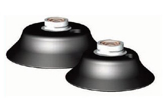 Destaco's DC Series of destacker stress relieving vacuum cups are designed for pogo-style destacking applications.
