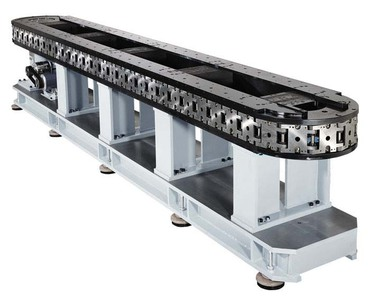 Destaco's GTS Series of heavy duty, prevision link conveyors are available in over/under and carousel configurations.