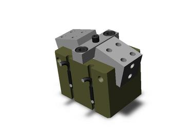 Destaco's RA-6 Series of 2 jaw, cam driven angular grippers are designed for very high gripforces and tight spaces.
