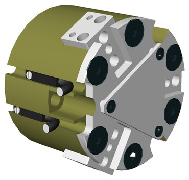 Destaco's RPC-315 Series of 3 jaw, parallel grippers are designed for self-centering with a very high grip force.