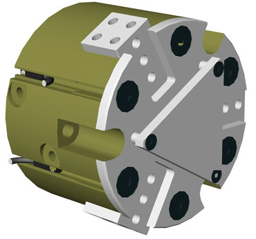 Destaco's RPC-331 Series of 3 jaw, parallel grippers are designed for self-centering with a very high grip force.